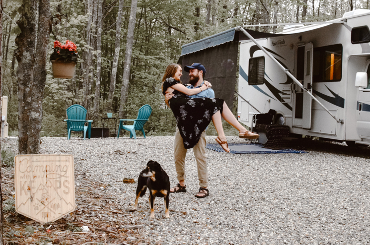 Staying for a summer while traveling in our RV full time